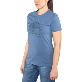 Schöffel Zug2 - Camiseta manga corta Mujer - azul